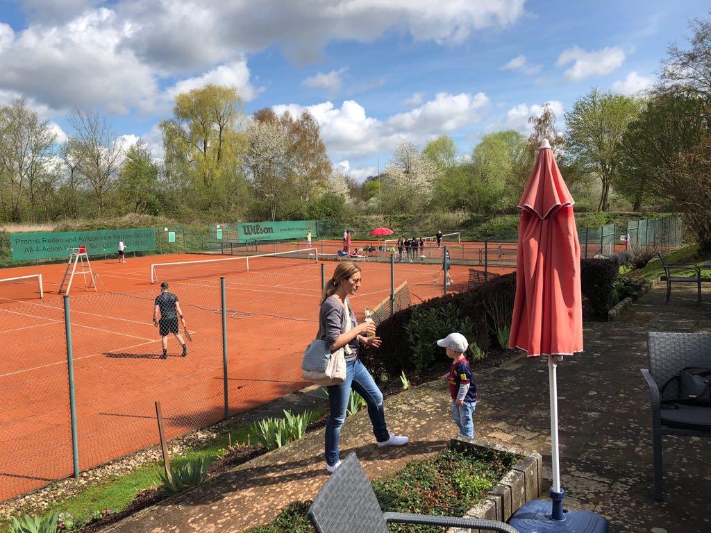 Die Tennissaison 2018 ist hiermit eröffnet