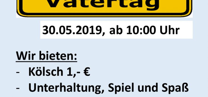 Vatertag 2019